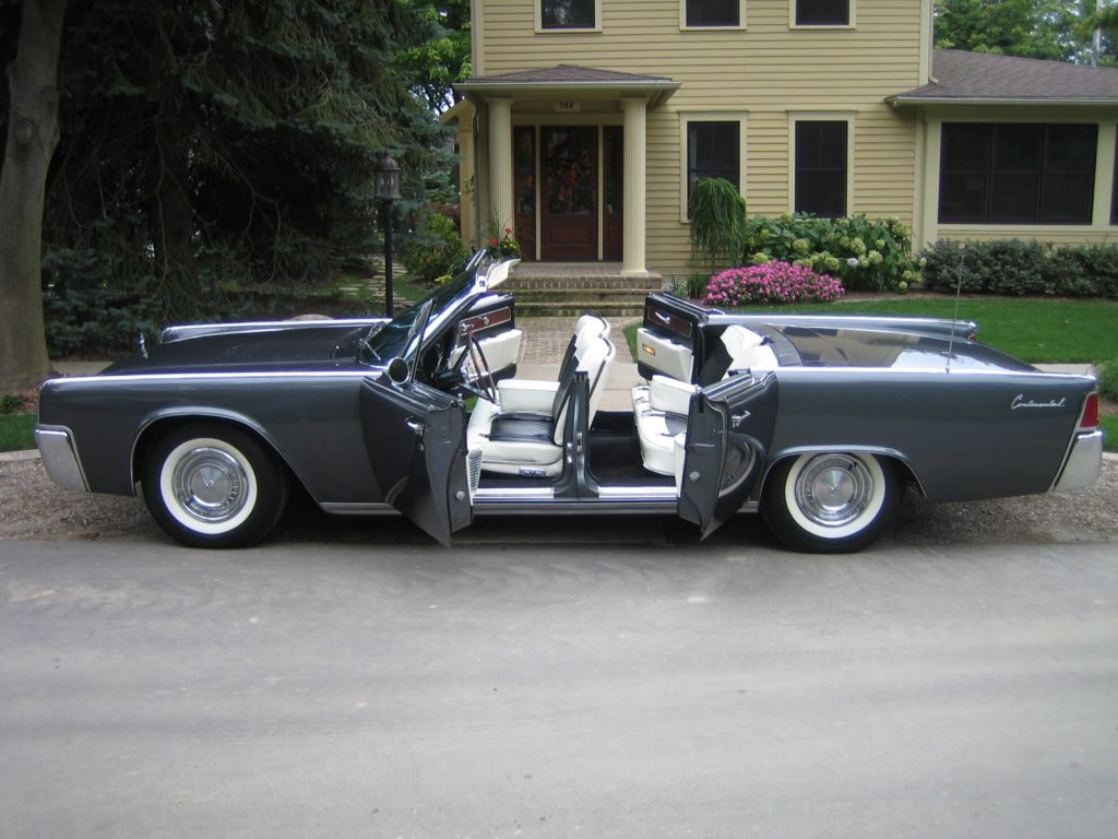 lincoln continental 1964 totally car news. Black Bedroom Furniture Sets. Home Design Ideas