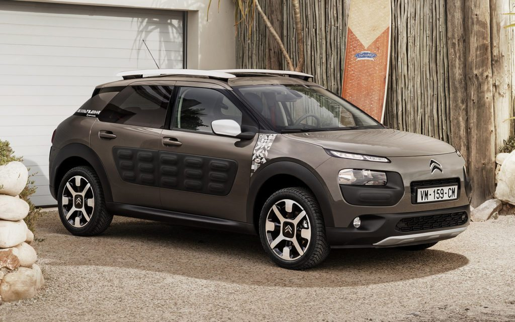 citroen c4 cactus rip curl totally car news. Black Bedroom Furniture Sets. Home Design Ideas